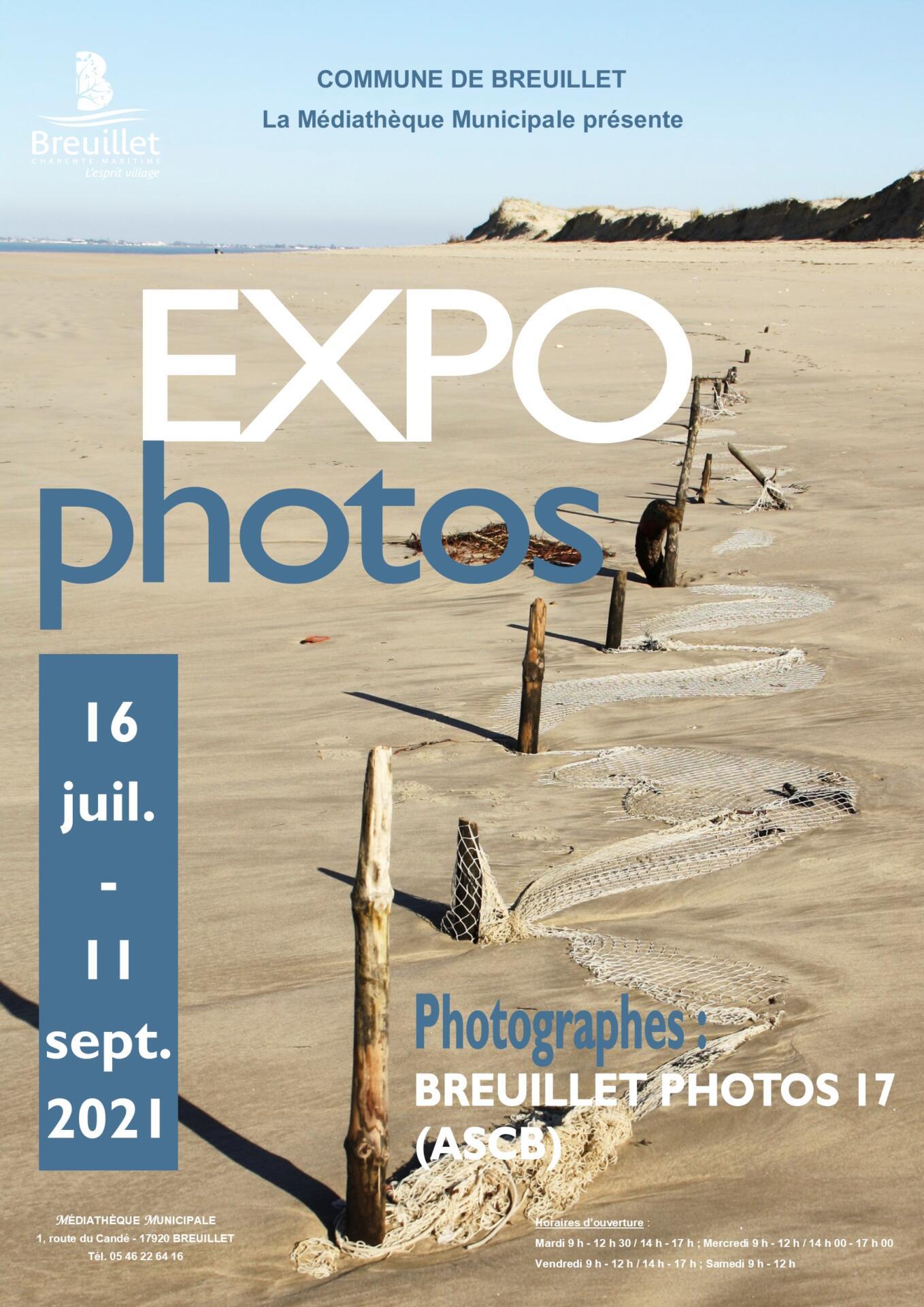 Médiathèque municipale : exposition «PHOTOS»